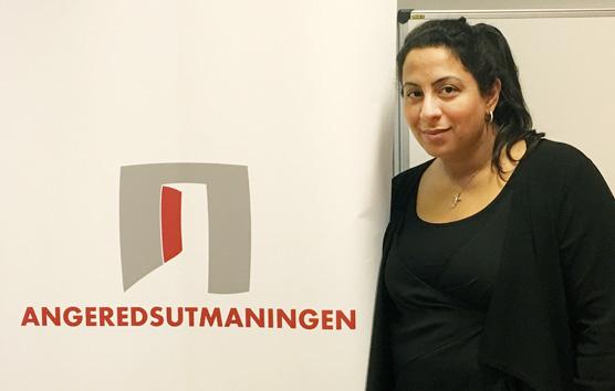 <span>Petra Elio jobbar med Angeredsutmaningen och har bjudit in Volvo till Angeredsgymnasiet. </span><div><span></span></div>