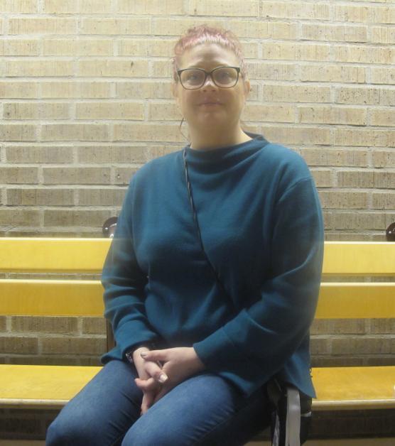 Charlotta Allenborg är elevasssistent på Riksgymnasiet och medlem i rådet.