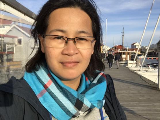 Charlotte Persson, Angeredsgymnasiets pbl-samordnare.