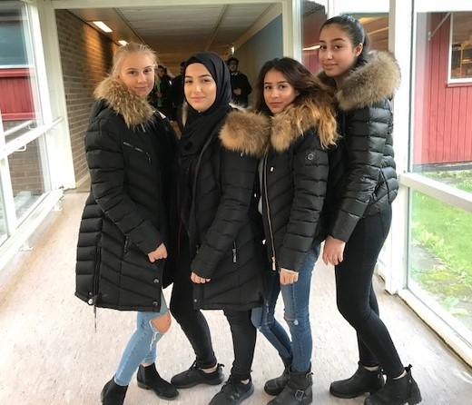 Klasskamraterna Elisabeth Ericsson, Kabas Al-shimmari, Vanessa Redzep och Nermin Abdullatif hoppas alla komma in i Ungdomsfullmäktige och bli en stark röst för ungdomar i stadsdelen. Men då måste alla under 18 år gå in och rösta på någon av oss före 20 november!