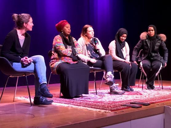 En expertpanel fick avsluta den internationella dagen mot kvinnlig könsstympning på Blå stället.