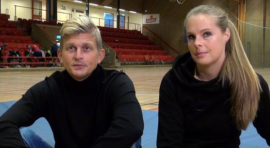 Mikael Olausson och Catarina Josteus är huvudansvariga för årets upplaga av AG Cupen.